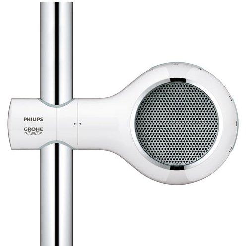 altoparlante per ascoltare la musica sotto la doccia. Black Bedroom Furniture Sets. Home Design Ideas